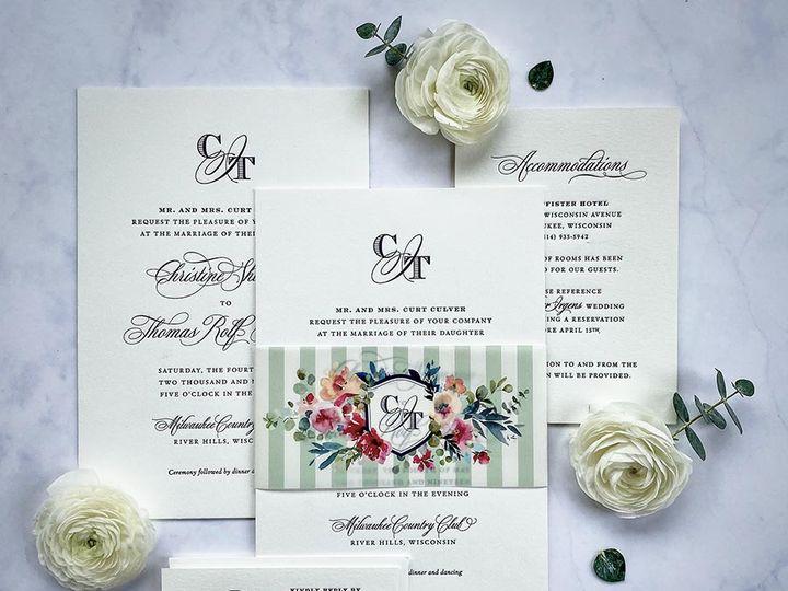 Tmx Navyletterpress Lores 900 51 168344 161600945191158 Wauwatosa, WI wedding invitation