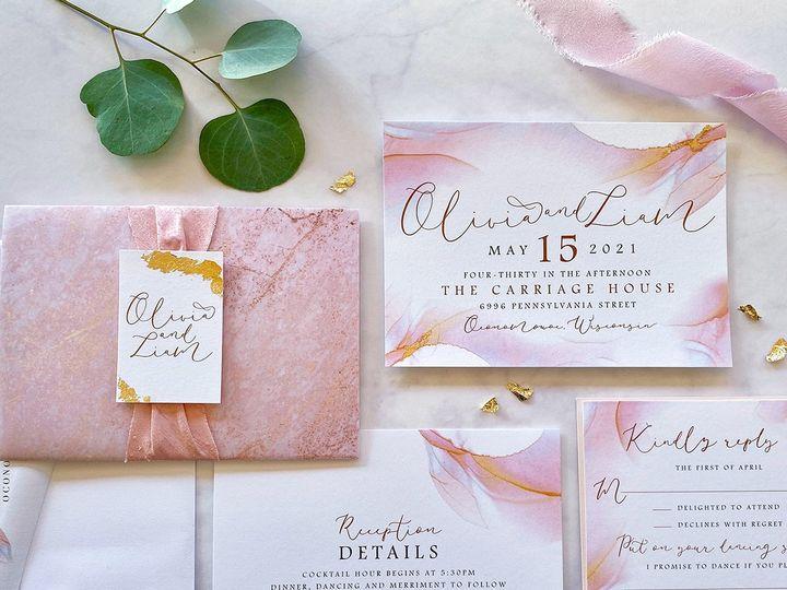 Tmx Peachgoldleaf Lores 1200 51 168344 161600952130272 Wauwatosa, WI wedding invitation