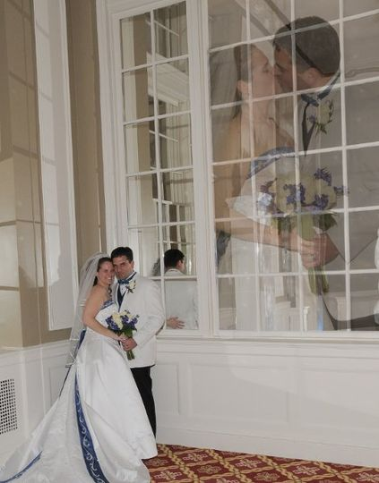 In the Mirror Room at the Yorktowne Hotel...
