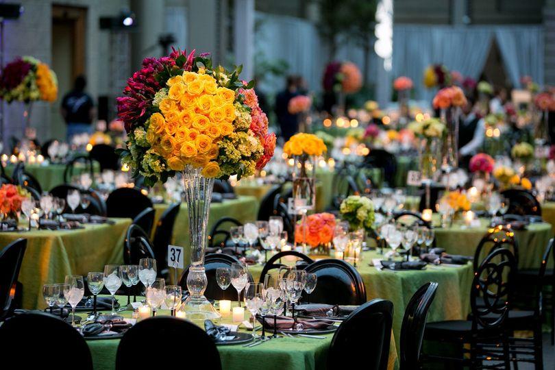 The banquet halls