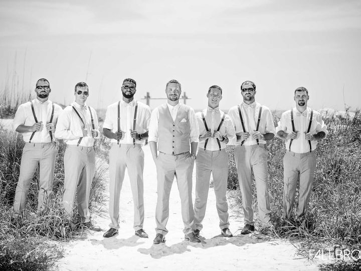 Tmx 15 Groomsmen Standing Dunes Black White 51 100444 1564675429 Saint Petersburg, FL wedding venue