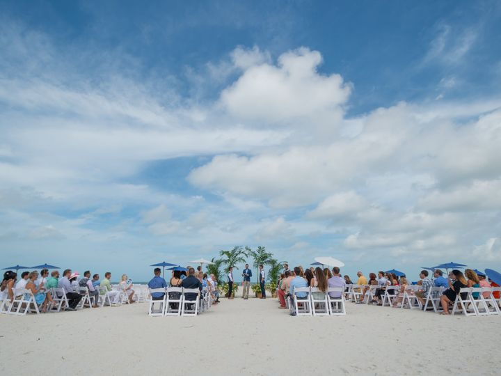 Tmx Beach Ceremony Double Aisle 3 51 100444 Saint Petersburg, FL wedding venue