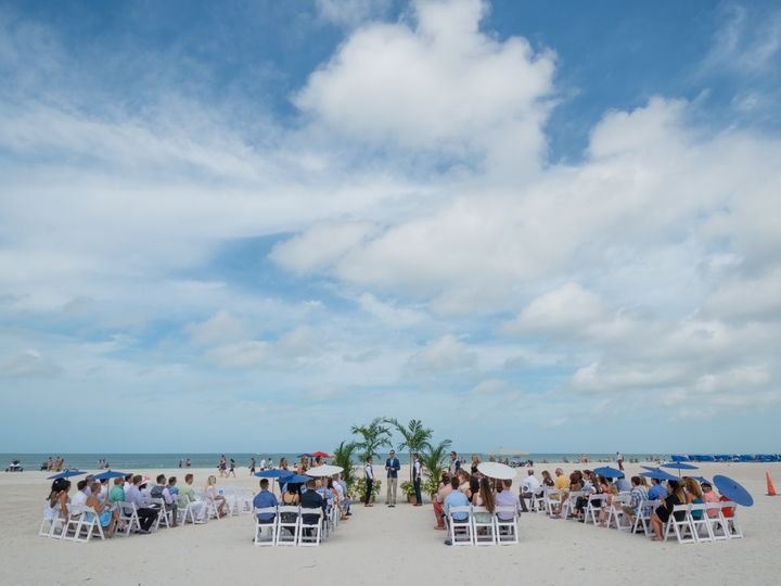 Tmx Beach Ceremony Double Aisle 51 100444 1564675431 Saint Petersburg, FL wedding venue