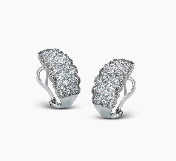 "Simon G. ""Simon Set"" Diamond Earrings"