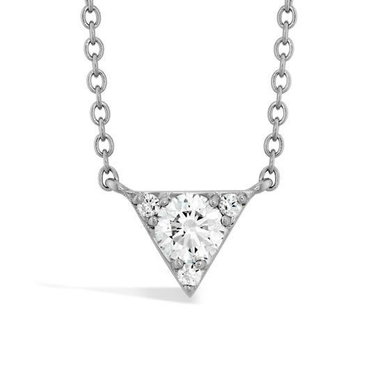 Hearts On Fire Triplicity Triangle Diamond Pendant