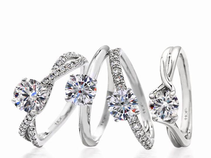 Tmx 1339445234092 HeartsonFire4ringsstanding Mankato, Minnesota wedding jewelry