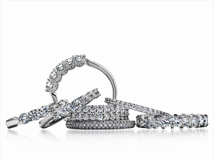 Tmx 1339445239219 HeartsonFiregroupofweddingbands Mankato, Minnesota wedding jewelry