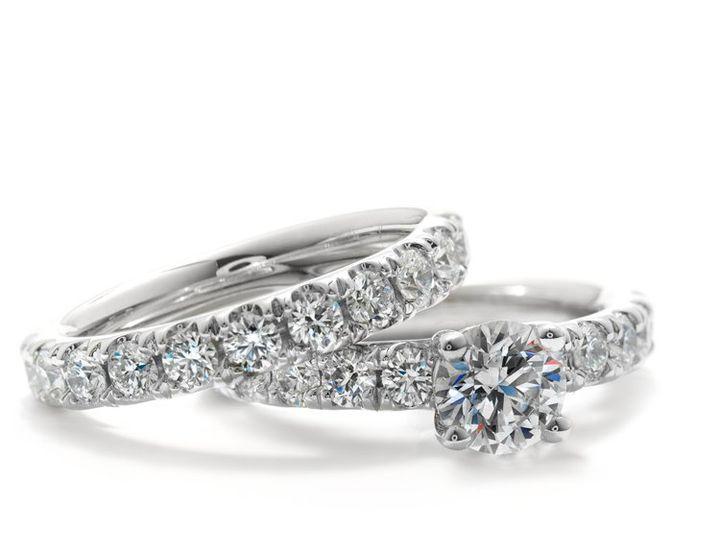 Tmx 1339445288559 HeartsonFireDesirebandandsoli Mankato, Minnesota wedding jewelry