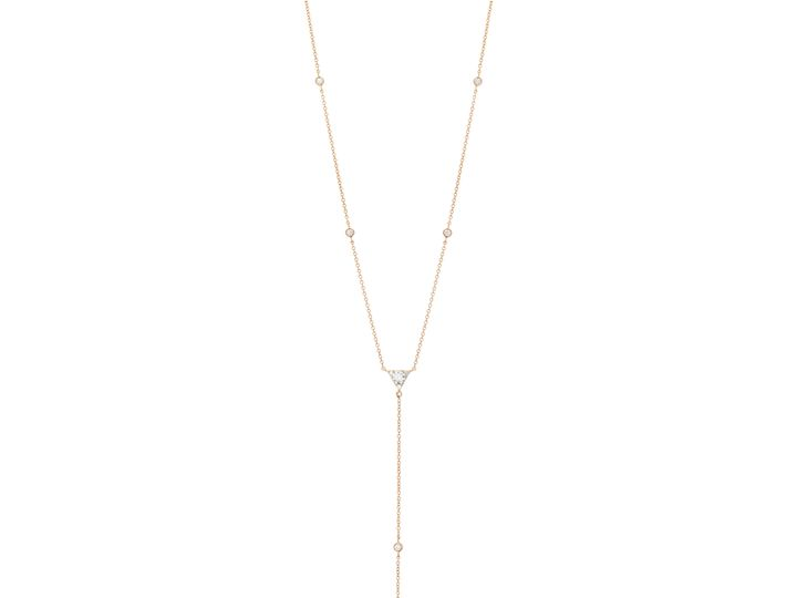 Tmx 1500592472908 Triplicity Triangle Lariat Necklace Mankato, Minnesota wedding jewelry