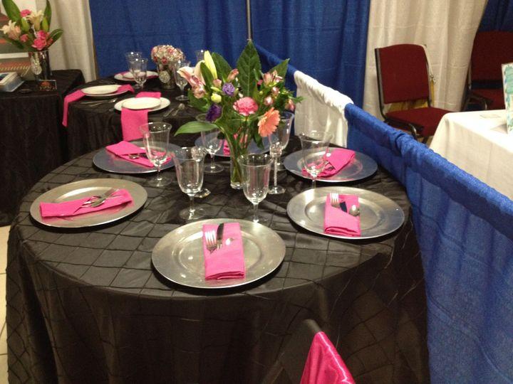 table 2 at bridal sho