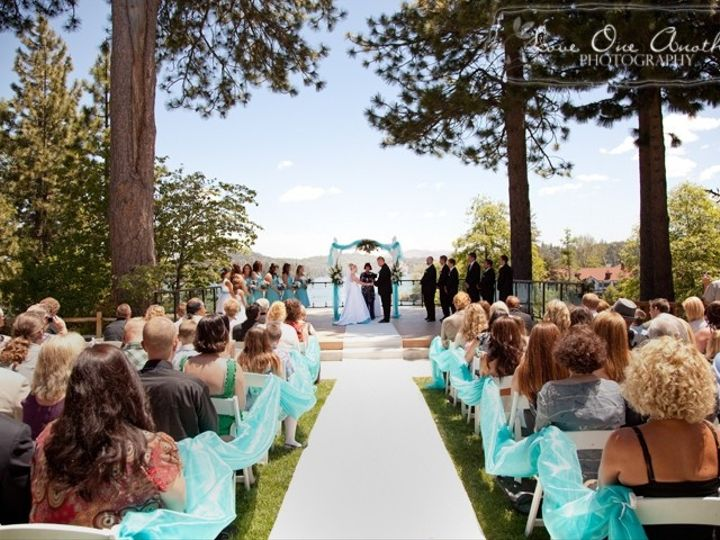 Tmx 1416002464960 Lakeside Lawn Ceremony Lake Arrowhead, CA wedding venue