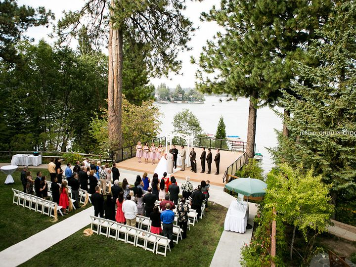 Tmx 1416002553814 Ceremony Plain White Arch Lake Arrowhead, CA wedding venue
