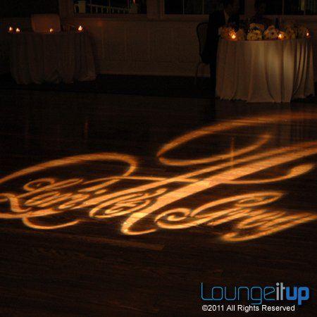 Tmx 1345479500743 LightingMonogramGoboProjectionRentalNJEvent6A Pine Brook wedding eventproduction