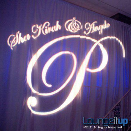 Tmx 1345479505407 LightingMonogramGoboProjectionRentalNJEvent5A Pine Brook wedding eventproduction