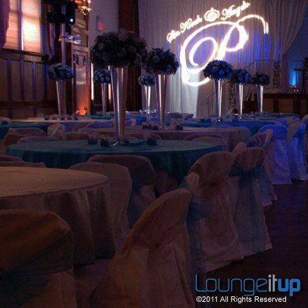 Tmx 1345479506485 LightingMonogramGoboProjectionRentalNJEvent5B Pine Brook wedding eventproduction