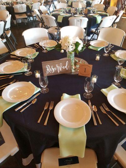 Preset Tables