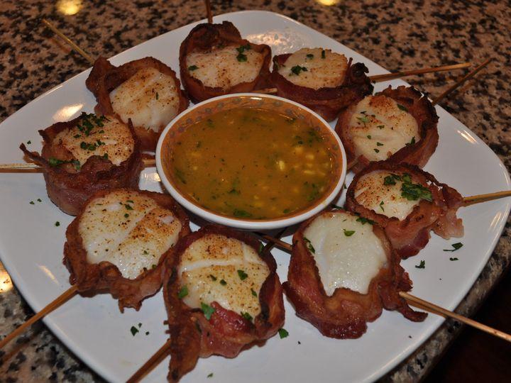 Tmx 1448904749956 Scallops Bacon Wrapped Fuquay Varina, North Carolina wedding catering