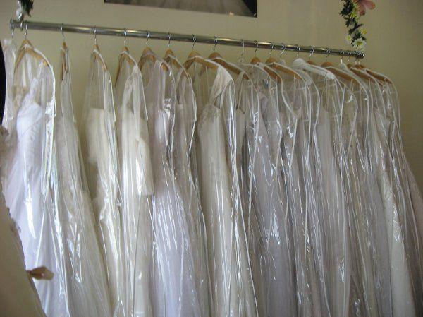 So many dresses for so many brides!