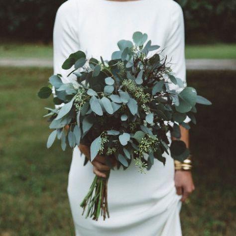 Casual Green Euca Bouquet