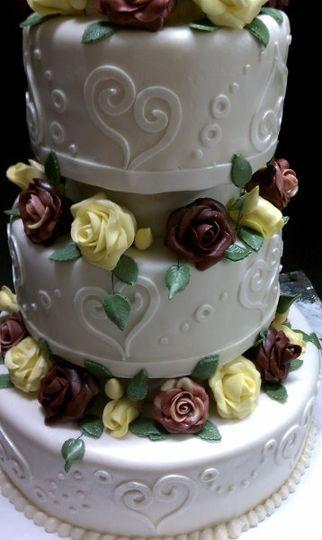 KATS OCCASIONAL CAKES Wedding Cake Columbus GA WeddingWire