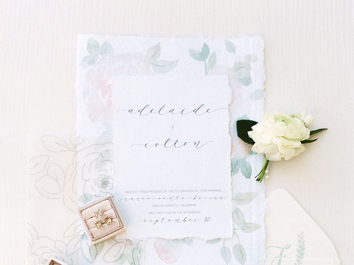 Tmx 1511911012629 Chantestyled 86 Chapel Hill wedding invitation