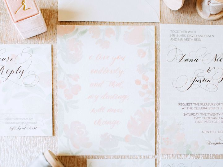 Tmx 1511911073515 Danajustin 10 2 Chapel Hill wedding invitation