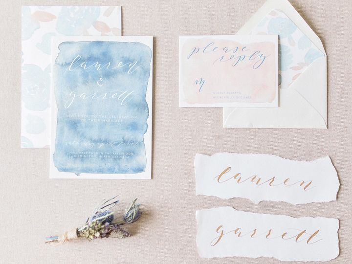 Tmx 1511911242607 Efull Suite With Escort Cards3   Edit Chapel Hill wedding invitation