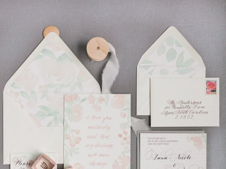 Tmx 1511911406967 Reidfull Suite Chapel Hill wedding invitation