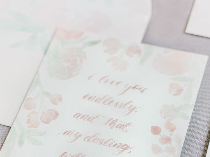 Tmx 1511911519907 Reidlove Quote Closeup Chapel Hill wedding invitation