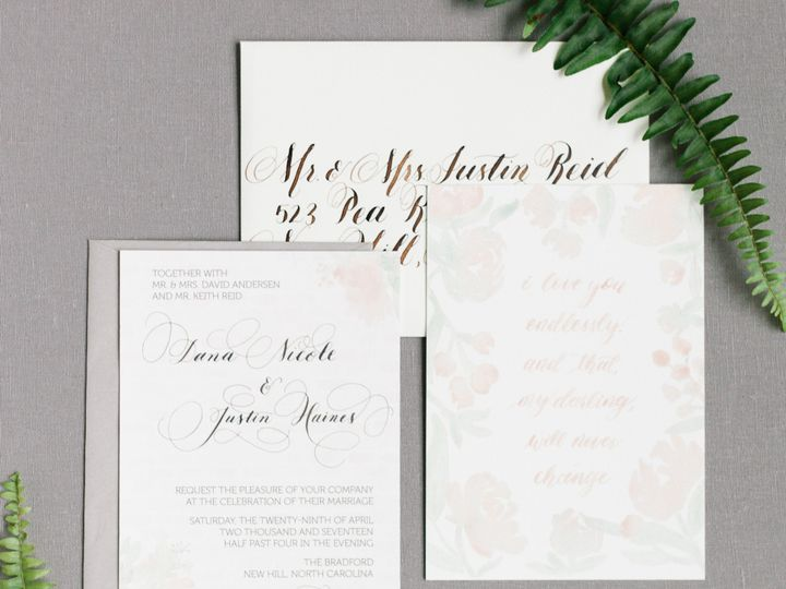 Tmx 1511911615164 Reidsuite Rear Shot Chapel Hill wedding invitation