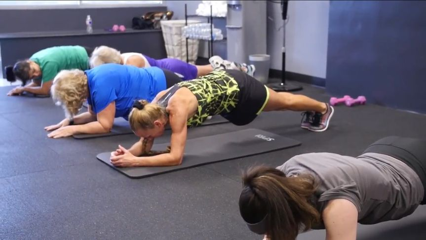 group plank