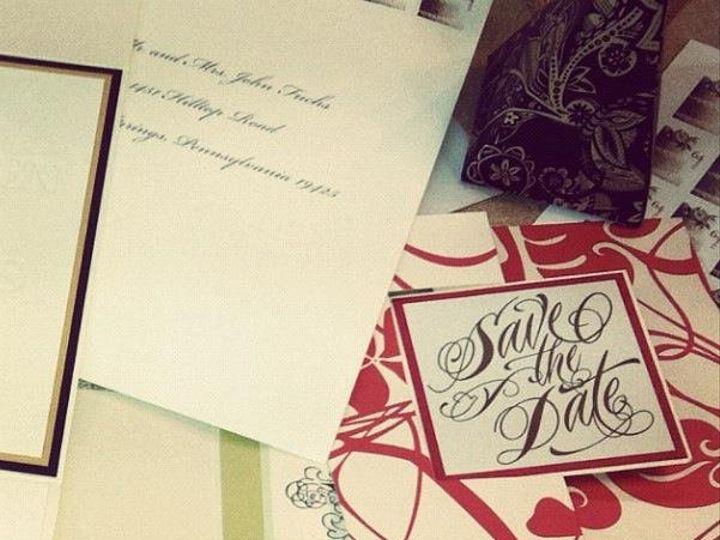 Tmx 1359063466369 Invitesphoto Philadelphia wedding invitation
