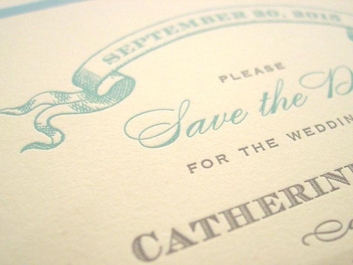 Tmx 1359063490933 Savethedatephoto Philadelphia wedding invitation