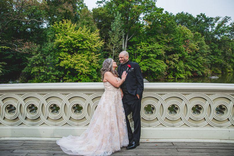 The happy couple - Angelica Radway Photography
