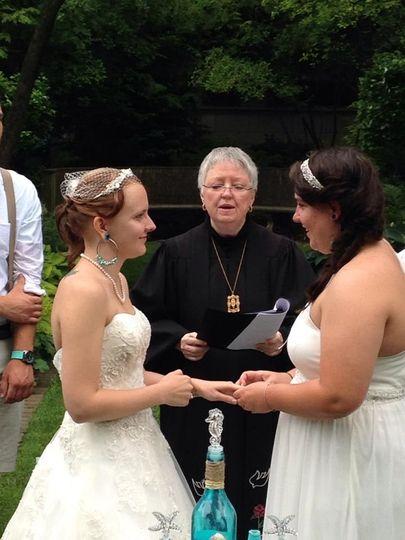 Shakespeare garden wedding