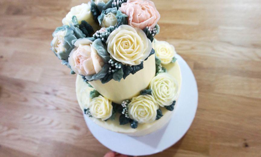 Pastel yellow cake