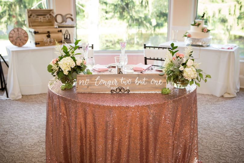 Couple table - delorenzo photography