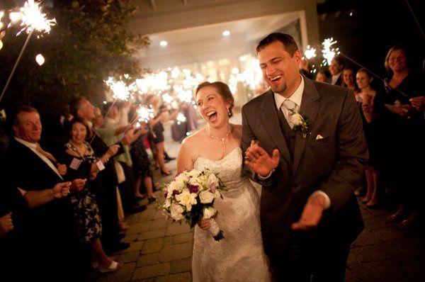 Tmx 1325190216627 Blessing.VanVoorhisSparklersLaughing Reeders, Pennsylvania wedding venue