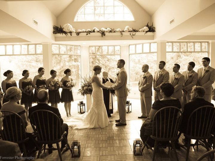 Tmx 1364653783862 Contino.HobbsindoorCeremCreditSF Reeders, Pennsylvania wedding venue