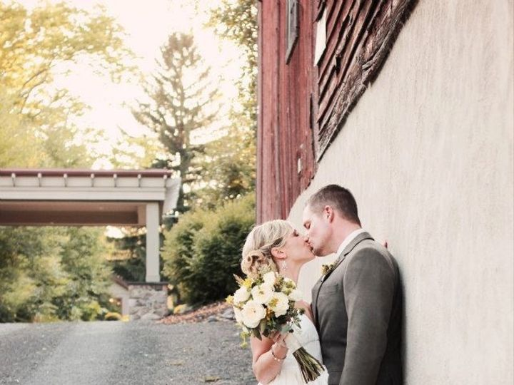 Tmx 1367014652266 Klauder.matlock Bg Kiss Side Of Barn   Credit Brynne Torres Reeders, Pennsylvania wedding venue