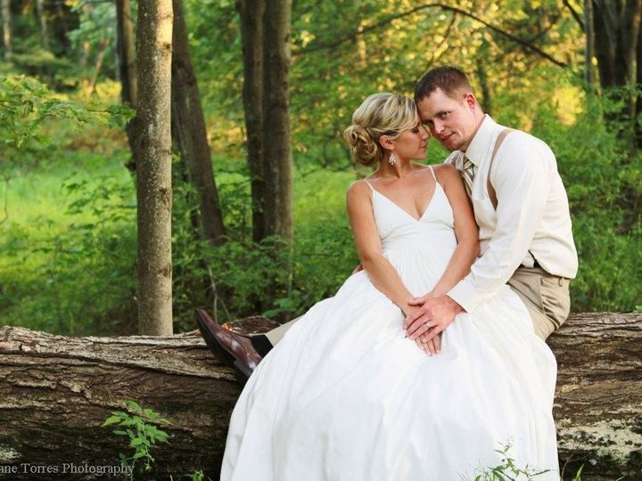 Tmx 1367014663609 Klauder.matlock Sitting On Log   Credit Brynne Torres Reeders, Pennsylvania wedding venue