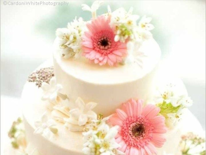 Tmx 1370032157993 Gerig.hudson Cake Pink Gerberas Credit  Bill Cardoni Reeders, Pennsylvania wedding venue