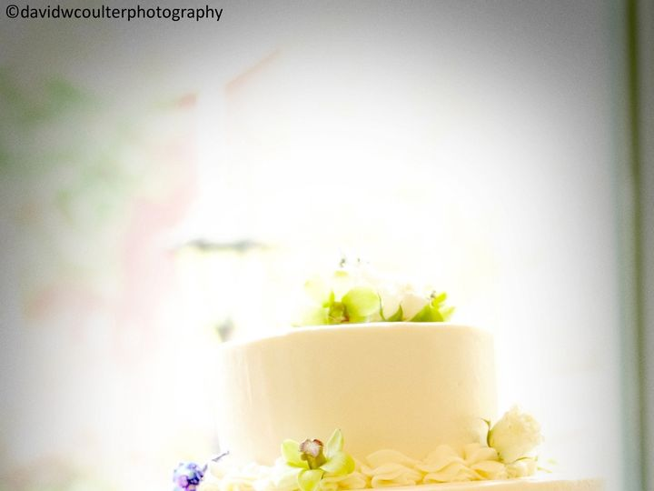 Tmx 1370032282823 Wedding Cake Gree And Purple Boarder Credit  David W. Coulter Reeders, Pennsylvania wedding venue