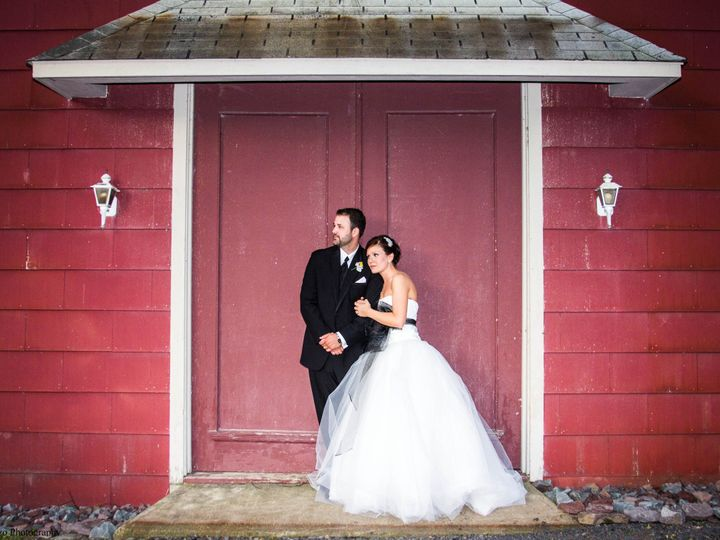 Tmx 1370033666956 Edelheiser.hartzell Bg Front Of Barn Credit Delorenzo Reeders, Pennsylvania wedding venue