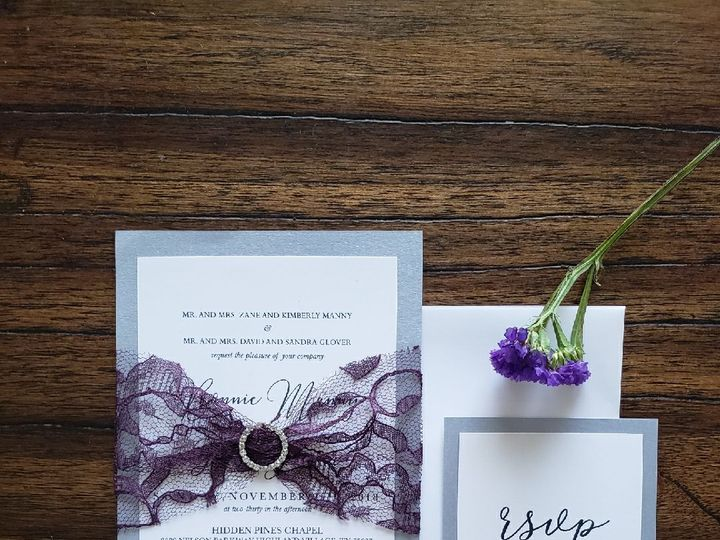 Tmx 1521775256 2d2addae4d3f6f60 1521775255 6cdc825beb7596ef 1521776151864 2 IMG 1252 Coppell wedding invitation
