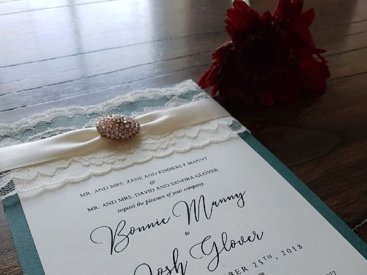Tmx 1521775907 9e3b26ddc94c939a 1521775906 938a1fdb41505f90 1521776802950 3 IMG 1249 Coppell wedding invitation
