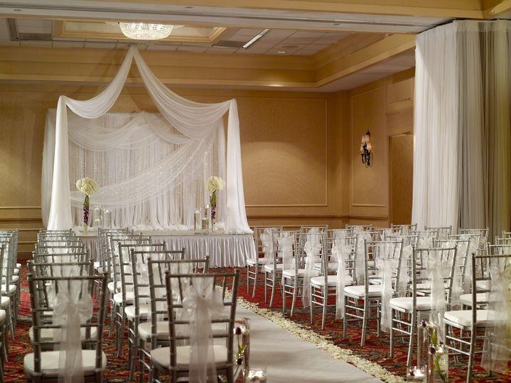 Wedding chairs arrangement