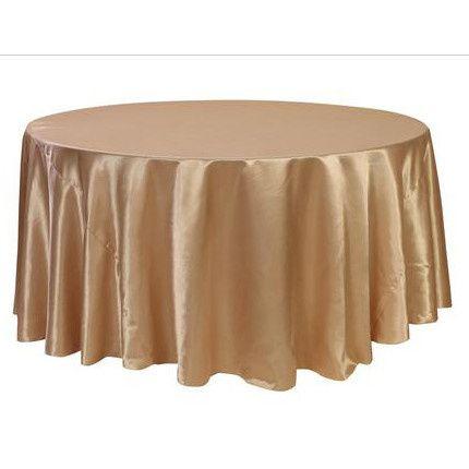 Tmx 1467914737822 Satin Champagne Tablecloth Merced, CA wedding rental