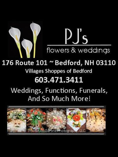 PJ's Flowers & Weddings