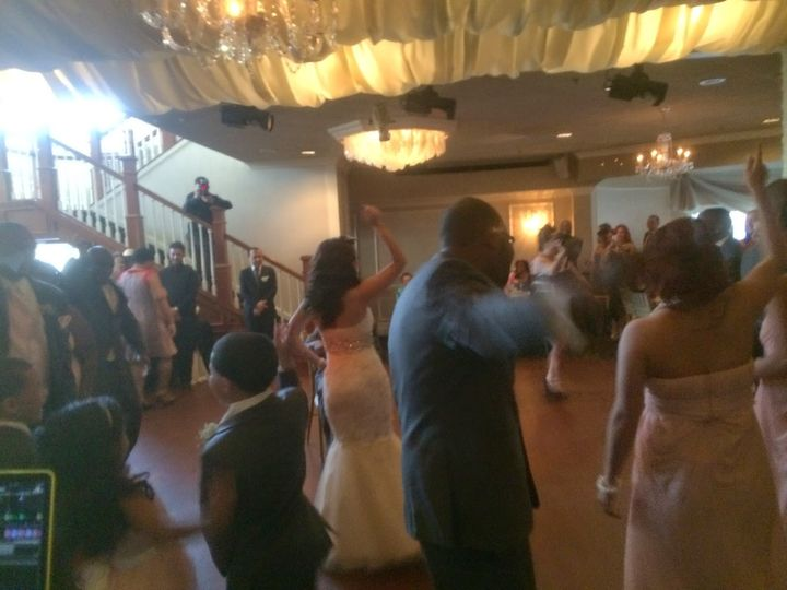 Abe & jeramie robinson - wedding reception